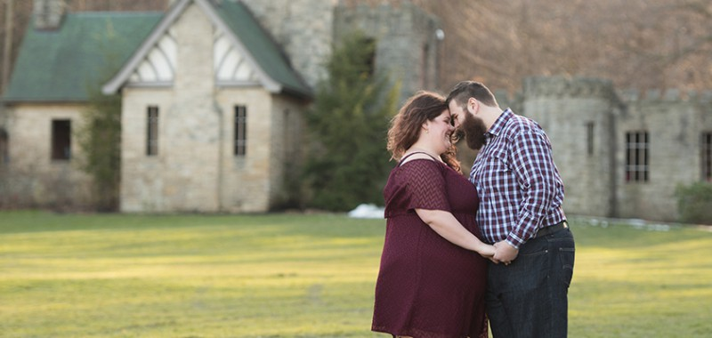 Brittany & Dan Squire's Castle Engagement Session