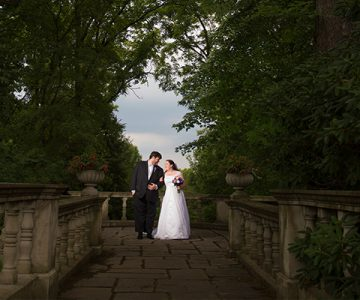 Mary & Eric Stan Hywet Akron Wedding