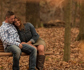 Sarah & Mike Youngstown Engagement Session