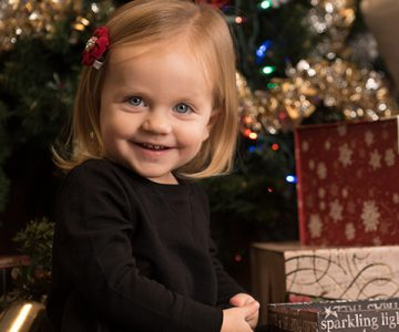 Hannah Christmas & 2 yr. Session