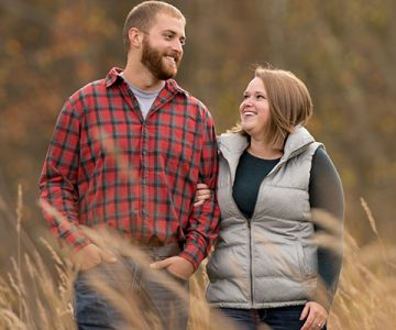 Jen & Garrett Brecksville Reservation Engagement Session