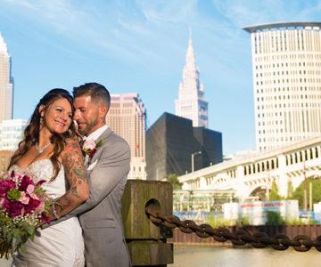 Jen & Anthony Michaud's Event Center Wedding