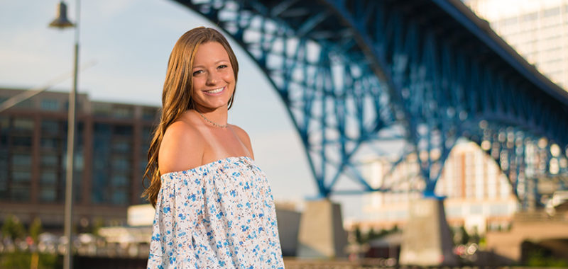 Alyssa's Cleveland Senior Session