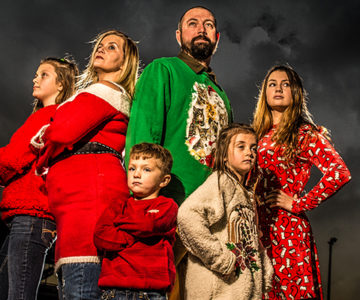 Shortridge Family Twinsburg Christmas Session