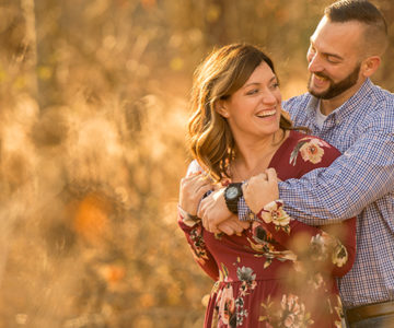 Ashley & Zach's Brecksville Reservation Engagement Session