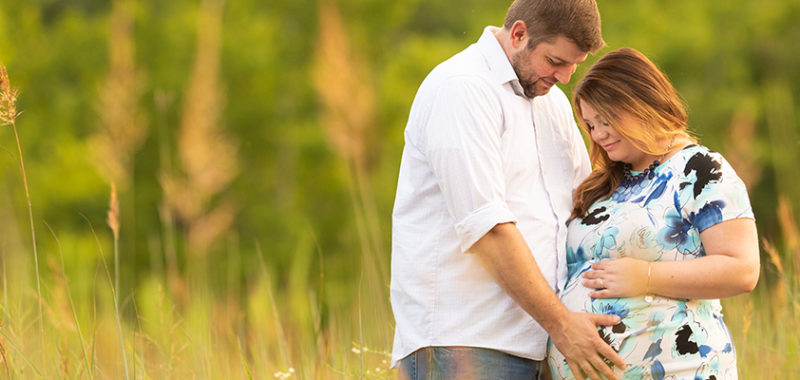 Loriann & Matt Brecksville Reservation Maternity Session