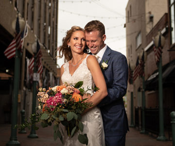 Kristi & Max Historic Onesto Canton Wedding