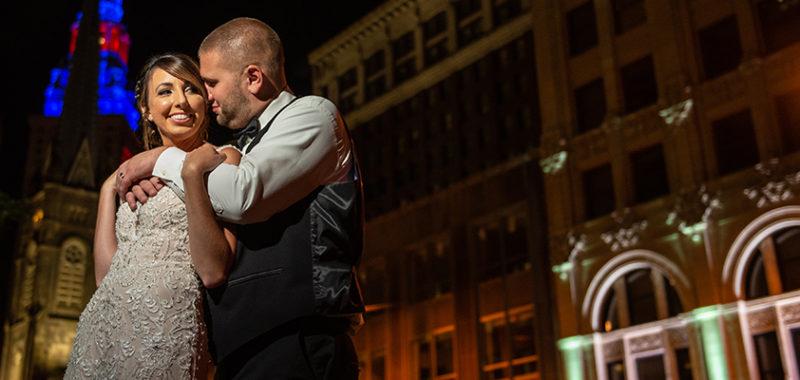 Lindsay & Rob St. Claire Ballroom Wedding