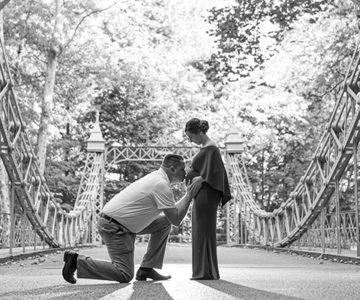 Jenn & Justin Cinderella Bridge Maternity Session