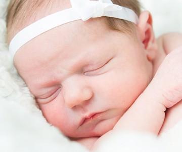 Baby Hannah Newborn Session