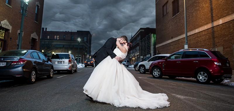 Loriann & Matt Akron Wedding