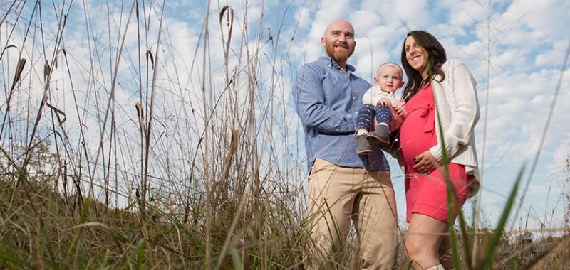 Ava, Stephanie & Josh Cuyahoga Falls Maternity Session