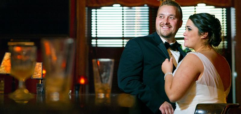 Haley & John Akron Wedding