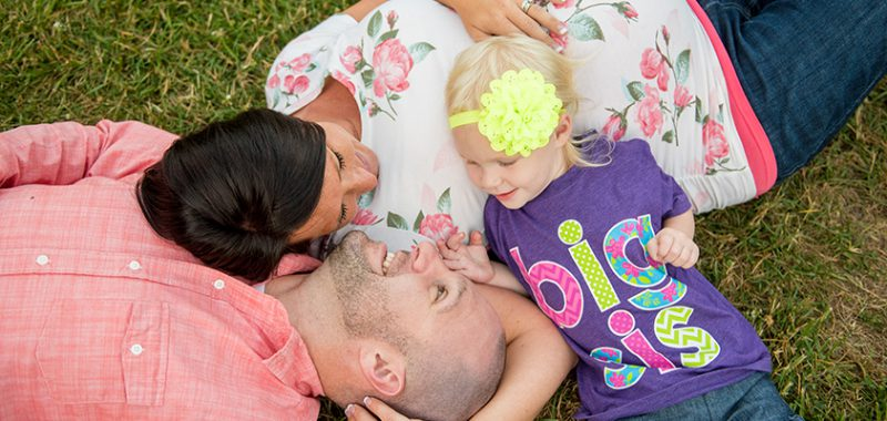 Poling Family Maternity Session