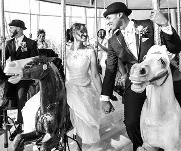 Dana & Milton Tudor Arms Hotel Cleveland Wedding