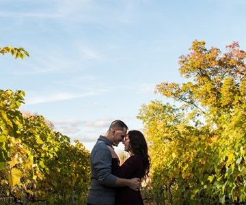 Rachel & Nick Gervasi Vineyard Engagement Session
