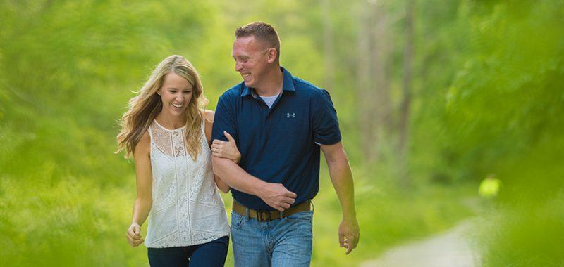 Carolyn & Barry Brandywine Falls Engagement Session