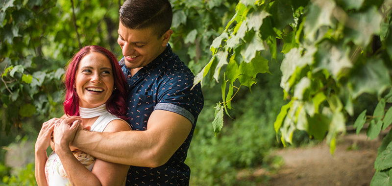 Doris & Paolo Rocky River Reservation Engagement Session