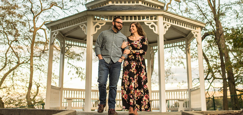 Emily & Adam Rocky River Engagement Session