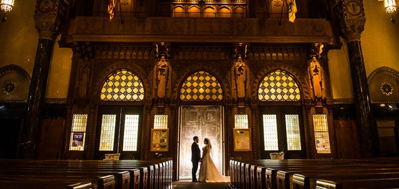 Katy & Shane Michaud's Event Center Wedding