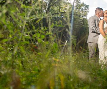 Phoenix & Zach Landoll's Castle Mohican Castle Wedding