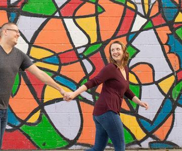 Alyssa & Chris Ohio City Engagement Session