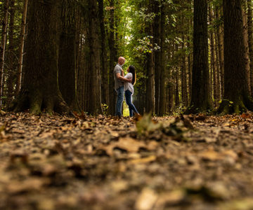 Michelle & Chuck Peninsula Engagement Session