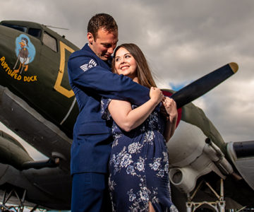 Jordan & Paul MAPS Air Museum Engagement Session
