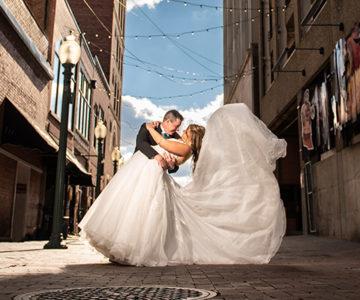 Kahliegh & Adam Canton Wedding