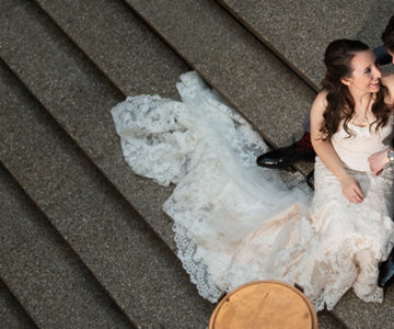 Katherine & Adam Cleveland Arcade Wedding