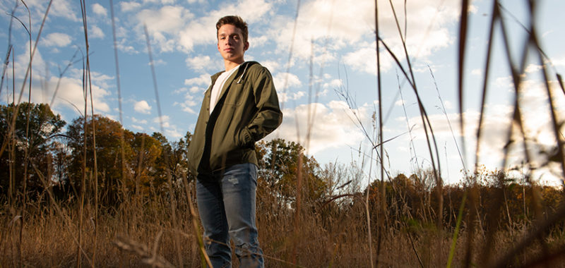 Blake Brecksville Reservation Senior Session