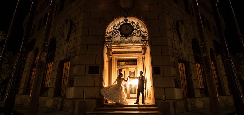Emily & Matt Ariel Pearl Center Wedding